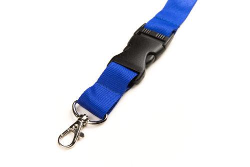Schlüsselband Blau