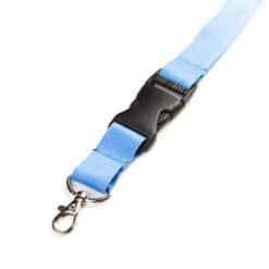 Schlüsselband Hellblau