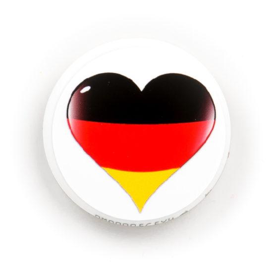 Libre Sticker Deutschland Herz