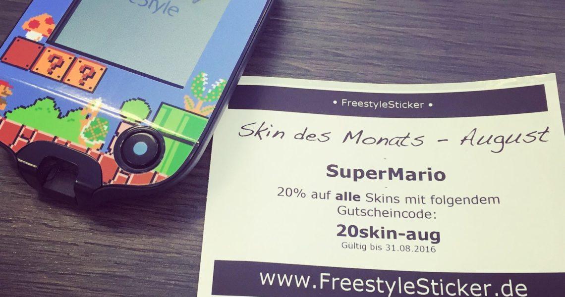 Freestyle Libre Skin des Monats