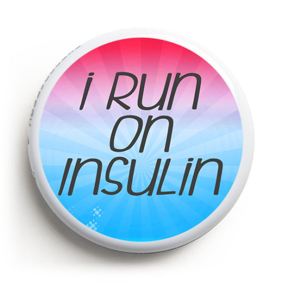 Libre Sticker - Run on Insulin