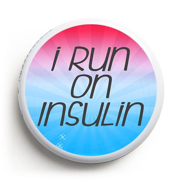 Libre Sticker - Run on Insulin