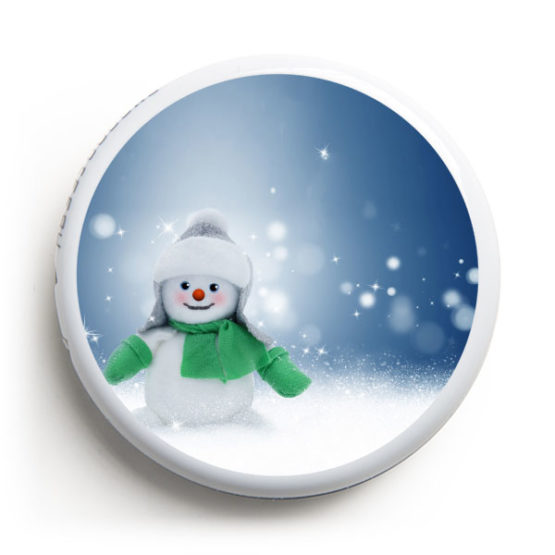 Freestyle Libre Sticker - Snowman2