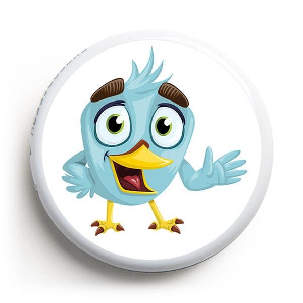Freestyle Libre Sticker - Vogel