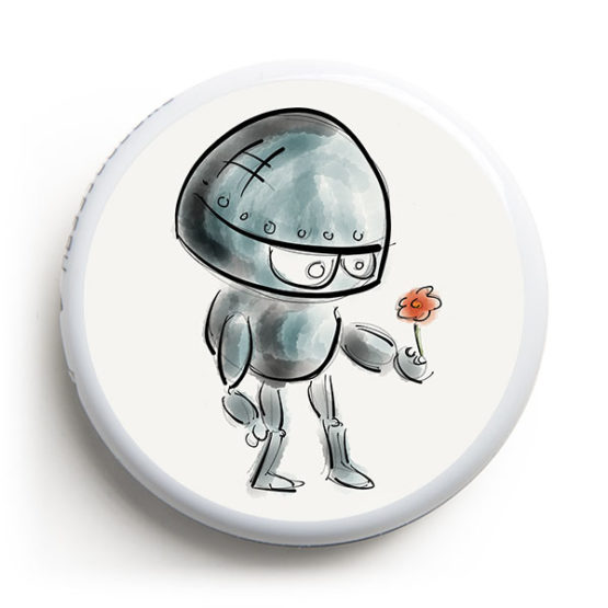 Freestyle Libre Sticker - Roboter