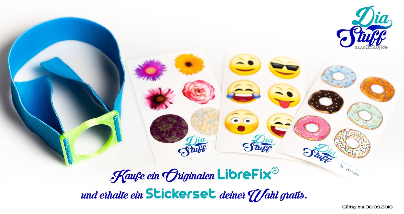 Freestyle Libre Sticker Set Gratis