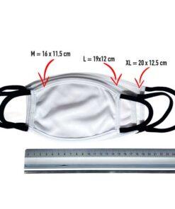 Masken-maße